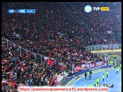 (Relato Emocionante) Chile 1 Uruguay 0 (ADN Radio Chile 91.7)  Copa America 2015