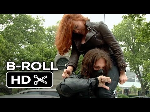 Captain America: The Winter Soldier Complete B-ROLL - Scarlett Johansson Movie HD