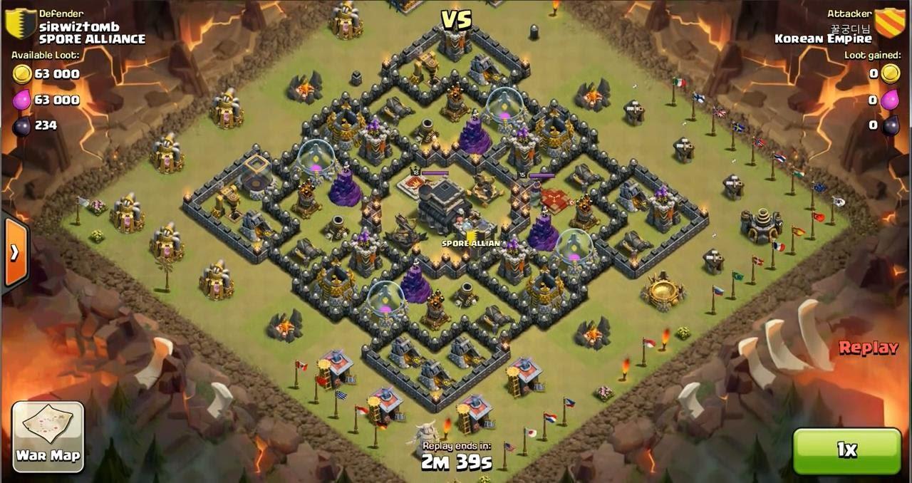 Clan Wars  ClashTrackcom  clan manager tactics editor