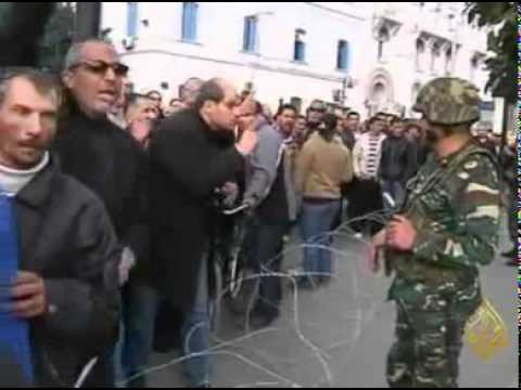 Tunisia Riots State of emergency