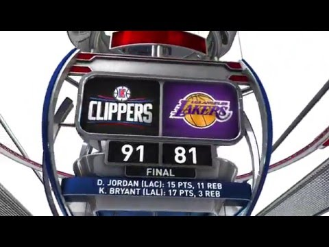 Los Angeles Lakers vs Los Angeles Clippers - April 6, 2016