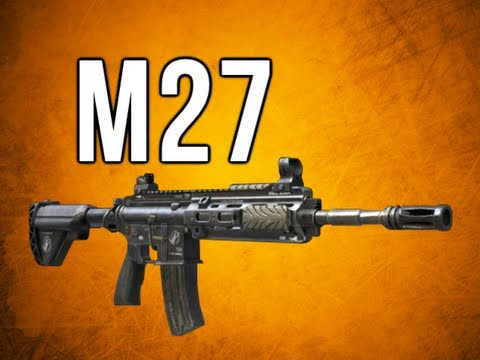 Black Ops 2 In Depth - M27 Assault Rifle Review