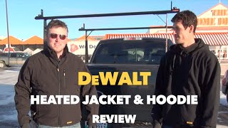 DeWalt Heated Jacket & Heated Hoodie Review 12V/20V Max