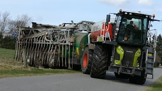 Claas Xerion 4000 SaddleTrac w/ Samson PG25 & 36-Meter Harsø Boom | Special Build | Danish Agri