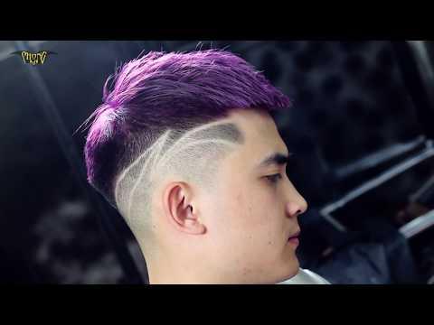 Tóc Nam đẹp Mohican Biến Tấu Phá Cách đẹp Nhất 2017 - Phong BvB 1174 Láng