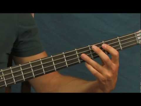 Bass Guitar Lesson Hotel California The Eagles video