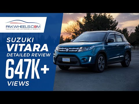 All New Suzuki Vitara GLX 2017 - PakWheels Reviews