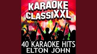 Country Comfort Karaoke Version Originally Performed By Elton John
