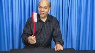 Super Toothbrush - a Giant Joke - MagicTricks.com
