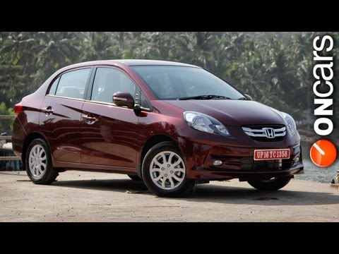 2013 Honda Amaze launched in India at Rs 4.99 lakh