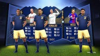 99 TOTY RONALDO, 98 TOTY MESSI, 96 TOTY KANE! - FIFA 18 Ultimate Team