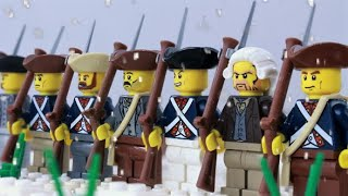 Lego Battle of Trenton - American Revolution stop motion