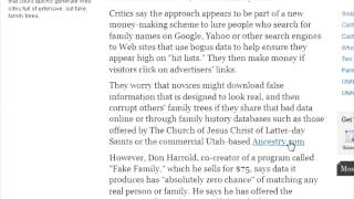 Possible Scam Alert Don Harrold's fake familys!!