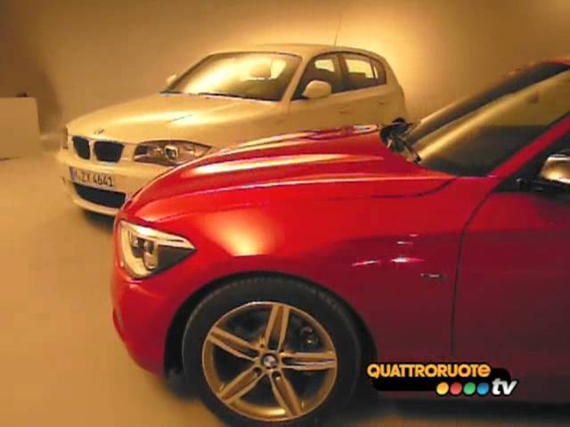 2012 BMW 1-Series - New and previous model comparison