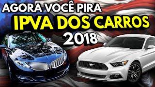 Valor do IPVA dos Carros USA - EstГ CARO?