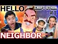 SCREEPY NEIGHBOR! (SCARY & CREEPY) - HELLO NEIGHBOR w/ Minecr...