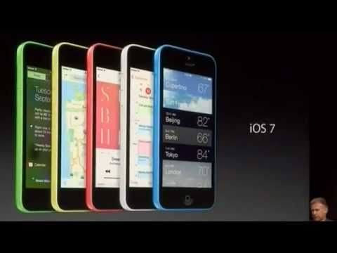 ▶ Apple iPhone 5C low cost $99 with 5 Colors   Apple iPhone 5C Launched In California