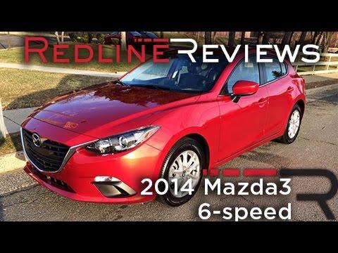 2014 Mazda3 6-speed Review. Walkaround. Exhaust. & Test Drive