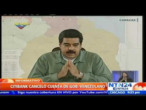 Citibank cerrará cuenta de pago de Venezuela