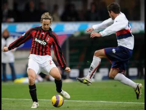ac milan 1-1 genoa milan goals , milan vs genoa 1-1 highlights BECKHAM SCORES A FREE KICK