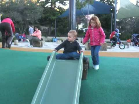 Kate & Jack At The Playground video