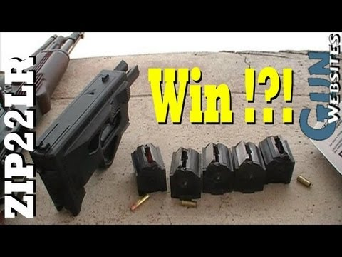 Shooting the Zip22LR = Epic WIN !!