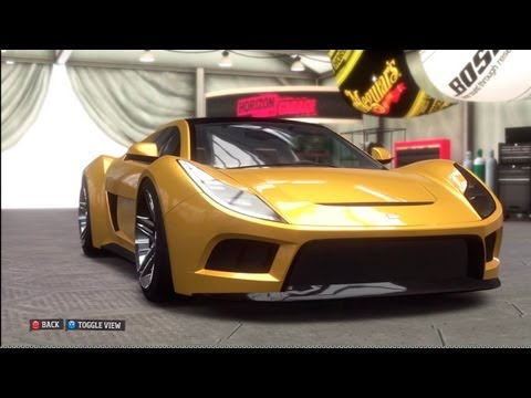 Forza Horizon UNICORN CAR 2010 Saleen S5S Raptor