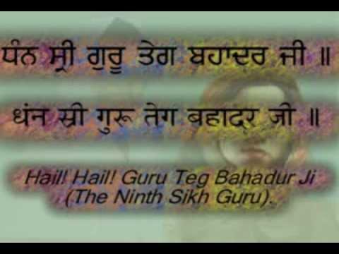 """Ten Guru's Names & Simran"" Hindi/Punjabi Captions & Translation"