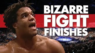 Top 10 Most Bizarre Fight Finishes