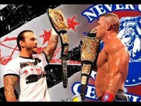 WWE - Cm Punk And John Cena Theme Songs (Remix)
