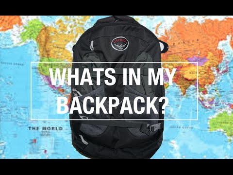 Backpacking Across Europe: Whats in my Backpack?