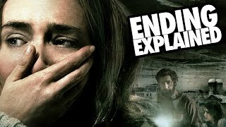 A QUIET PLACE (2018) Ending + Monsters Explained