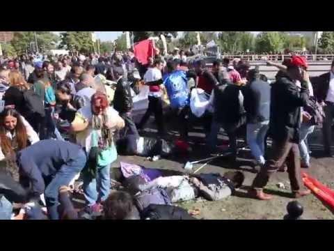 Turkey: Two Explosions at Ankara Peace Rally (GRAPHIC)