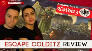 Escape From Colditz Board Game Review Video