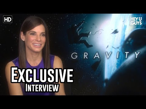 Sandra Bullock Interview - Gravity