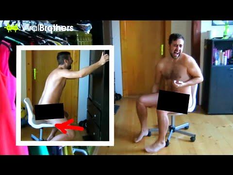Girlfriend's Revenge - Birthday Surprise Butt Waxing Prank video
