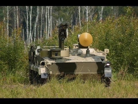 Испытания противотанкового ракетного комплекса «Хризантема-С»