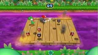 Mario Party 9 Minigame - Bomb Barge