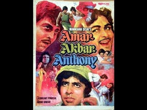 Amitabh Bachchan Filmography- film-poster and videoclip of year 1969-2000 in the order they released
