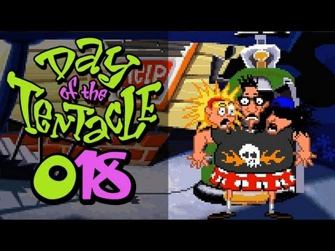 Let's Retro Day of the Tentacle #018 [Deutsch] [HD] - Endspiel & Credits