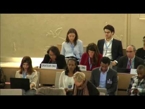 NGOs oral statement to the Human Rights Council