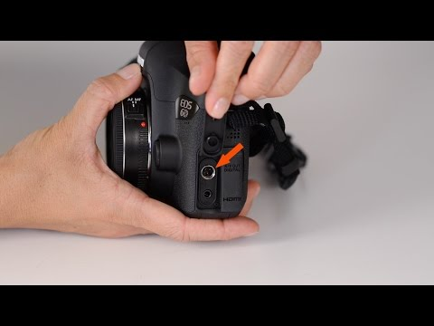 Canon 6D Body Tour and Menu Walkthrough