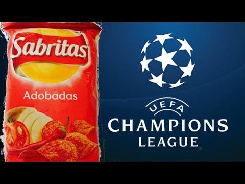 Abriendo Sabritas adobadas con UEFA Champions league