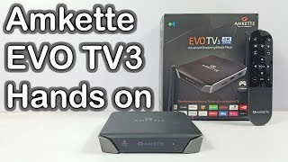 Amkette Evo TV 3 Unboxing and Hands on Review - Nothing Wired