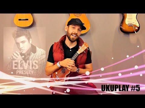 Nauka Gry Na Ukulele - Lekcja 5 - Elvis Presley - Can't Help Falling In Love (UKUPLAY)
