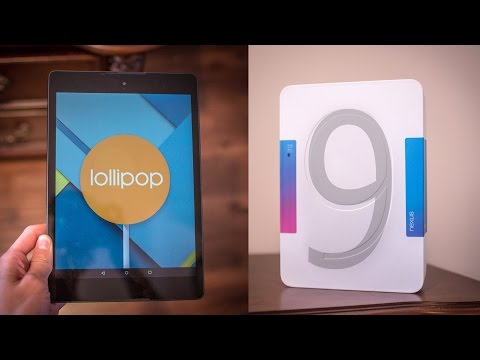Google Nexus 9 Unboxing and Mini Review!