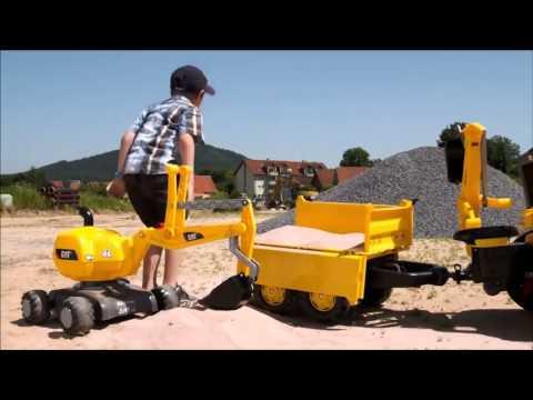RollyDigger CAT y Excavadora Rolly CAT Junior  item no   421015   813001 de Inforchess