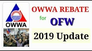 OWWA REBATE 2019 UPDATE