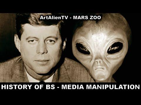 HISTORY OF BS (Part 1) MEDIA MANIPULATION & CONSPIRACIES. ArtAlienTV