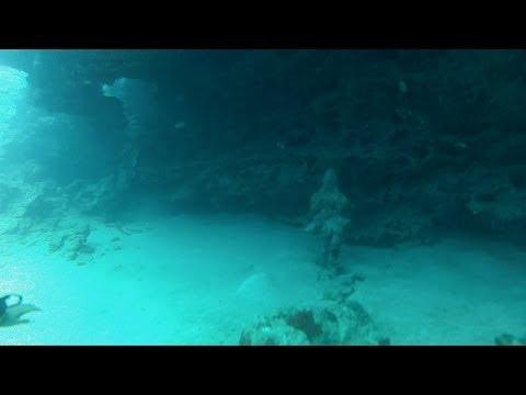Underwater Hindu Temple dive in Mauritius 2013-10-16